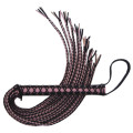 Ruff Doggie Styles Corset Flogger Pink and Black