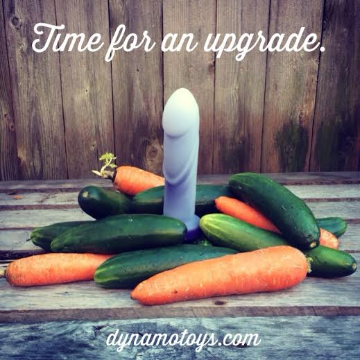 Tantus Cush Veggie Ad