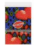 Latex dental dam strawberry